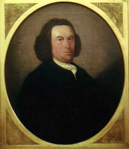 Portrait of John Glas, founder of the Glasites